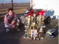 Buddy Grandstaff's many trophies!