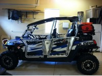 Josh's F.A.S.T. ported, stroked and turboed RZR.