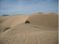 Carmen airing out her F.A.S.T. 350 at Glamis.
