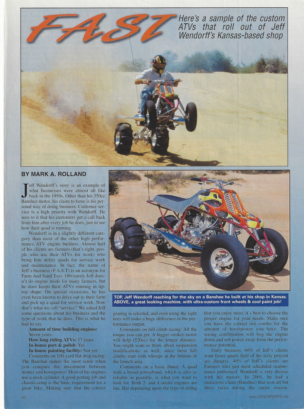 Farm And Sand Toys Honda Suzuki Polaris Yamaha for ATV powersports