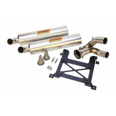 Sparks Racing X-6 Exhaust System Polaris 2014-2015 RZR 1000 XP / XP4