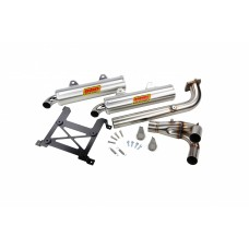Sparks Racing X-6 Exhaust System Polaris 2016+ RZR XP Turbo