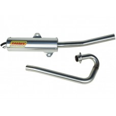 Sparks Racing X-6 Exhaust System Yamaha 2001-2005 Raptor 660 (Big Core)