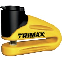 Trimax Brake Rotor Lock - Yellow