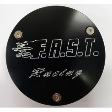 F.A.S.T. Billet Clutch Cover Insert - Banshee Black