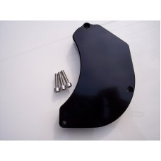 Billet Water Pump Cover Black