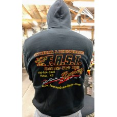 F.A.S.T. Wear Hoodie - Black - Long Sleeve