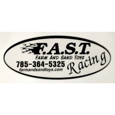 F.A.S.T. Racing Sticker Oval